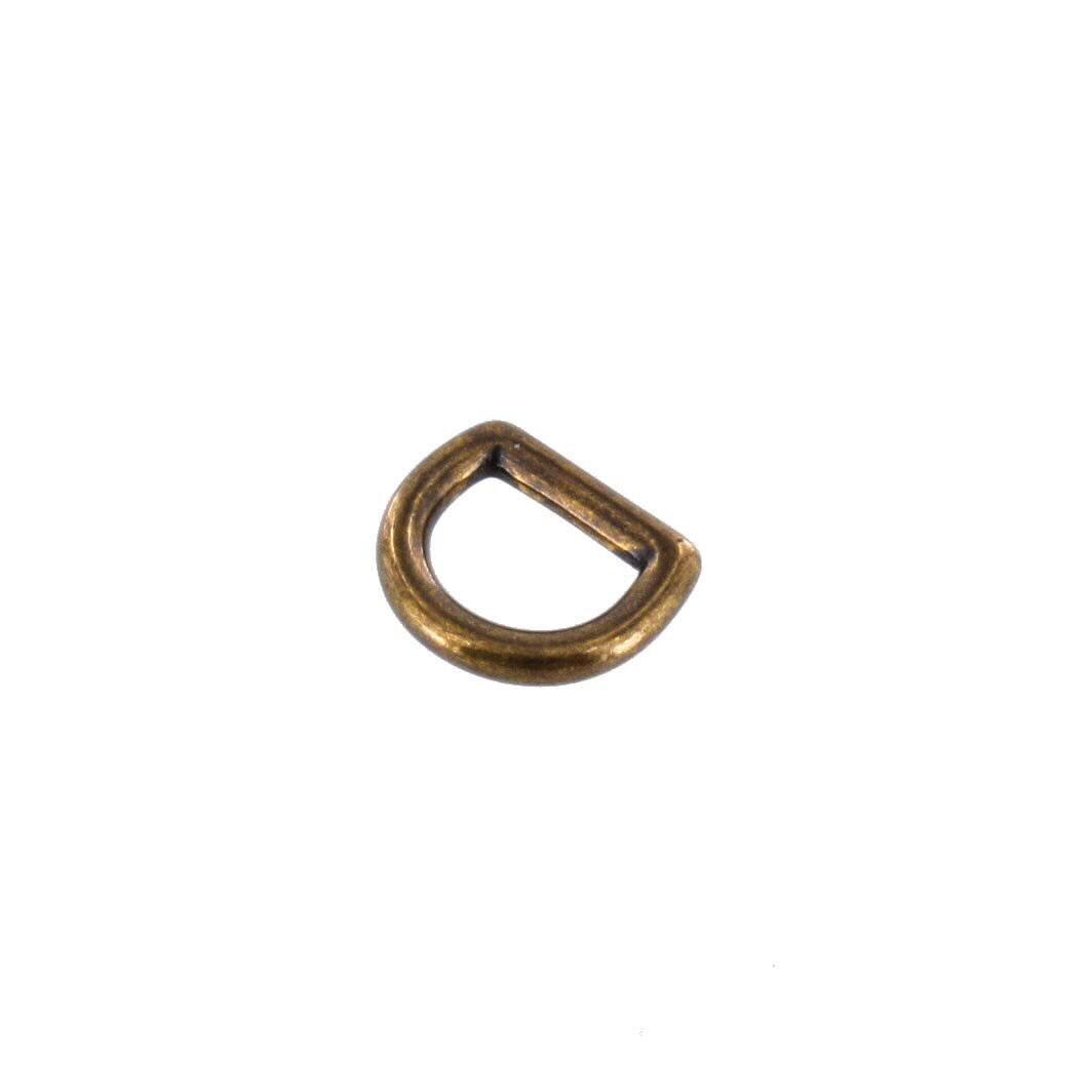 2011 3 8 antique brass d ring solid brass ll