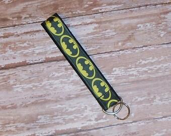 Batman - Wristlet Key Fob- Key Chain