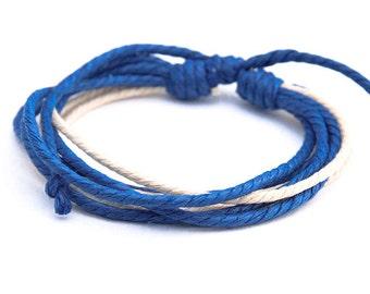Hemp Bracelet Men Women Wrap Wrist Cord Surfer Fashion Braclet  HB-5