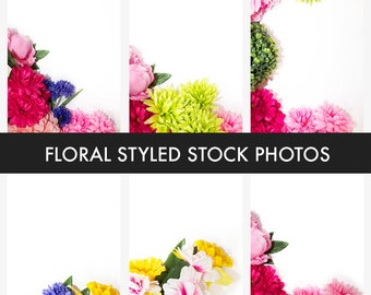Floral Styled Stock Photography Pack | Styled Stock Photography | Stock Photos | Roses | Flowers | Stock Image | 8 High-Quality Stock Photos