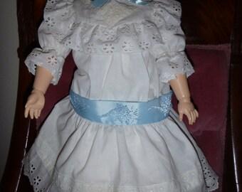 Heirloom Vintage Summer frock for 22-24inch dolls