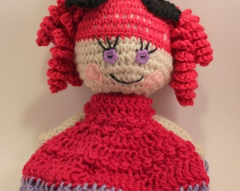 lovey and squeezeable crochet LaLa doll...