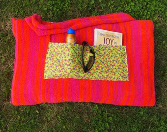 Beach Towel Bag- Transforming Tote