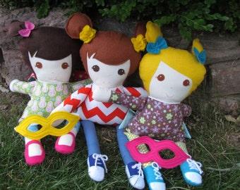 22-inch Custom Rag Doll