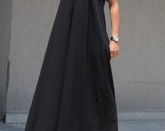 loose maxi dress, loose fit maxi dress, black maxi dress, plus size dress, long dress cocktail, long cocktail dress, loose fitting dress