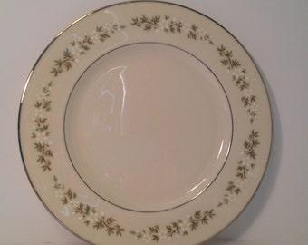 Vintage- Lenox Bone China- Brookdale Pattern Dinner Plate