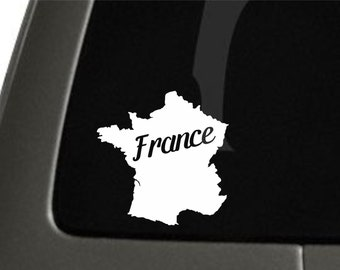 France Sticker For Car Window, Bumper, Or Laptop