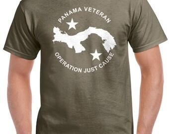 Panama Veteran T-Shirt 1076