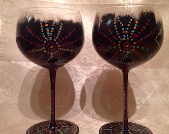 disco design wine wine wine wine glasses