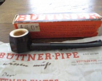 Vintage German, Buttner Pipe- free shipping