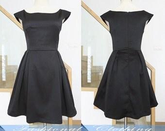 black dress summer sleeveless princess dress women clothing women dress girl dress vintage dress