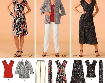 Simplicity Sewing Pattern 3506 Misses' & Plus Size Sportswear
