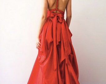Sabrina Gown - Red SAMPLE