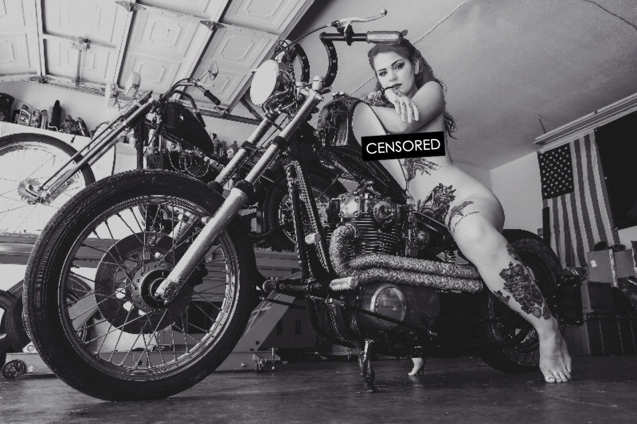 Motorcycles Nude 8