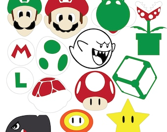 Mario Party (SVG & DXF files)