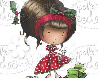 Christmas Gifts/Presents Digital Stamp - by Nikky Hall