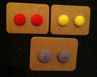SALE**Small colourful earrings!