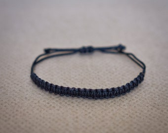 Macrame Bracelet, Stackable Bracelets, Macrame, Macrame Cord, Macrame Jewelry, Adjustable, Cord Bracelet, Macrame Patterns