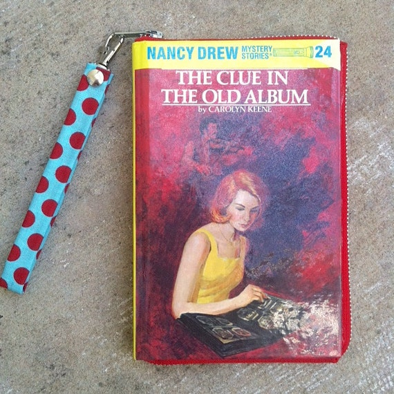 THE CLUE IN THE OLD ALBUM EARLY NANCY DREW #24 HARDBOUND EDITION DUST JACKET
