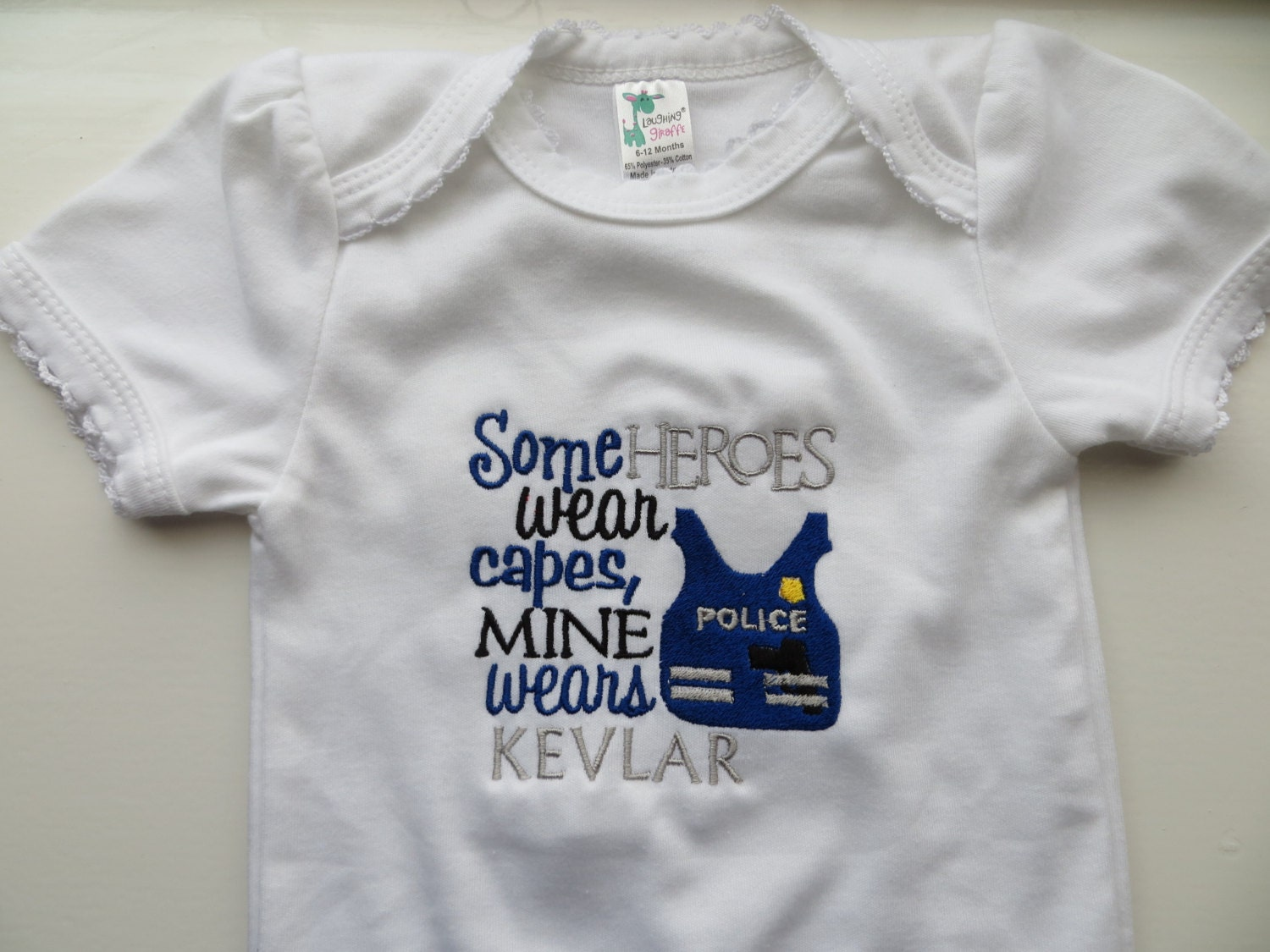 Police Hero Baby Gift Daddy Policeofficer Baby Clothes