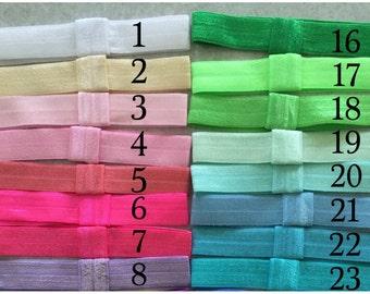 Elastic Headbands- Solid Colors, Baby Headbands, Elastic Headbands, Newborn Headbands