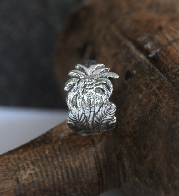 jamaica ring palm tree ring spoon ring coconut tree ring