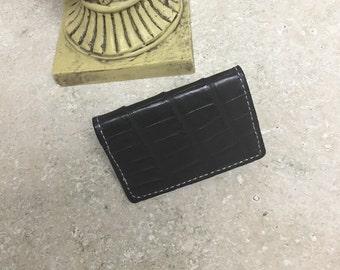 American alligator card case