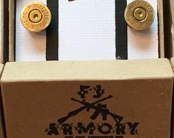 30 30 Winchester Bullet Cufflinks