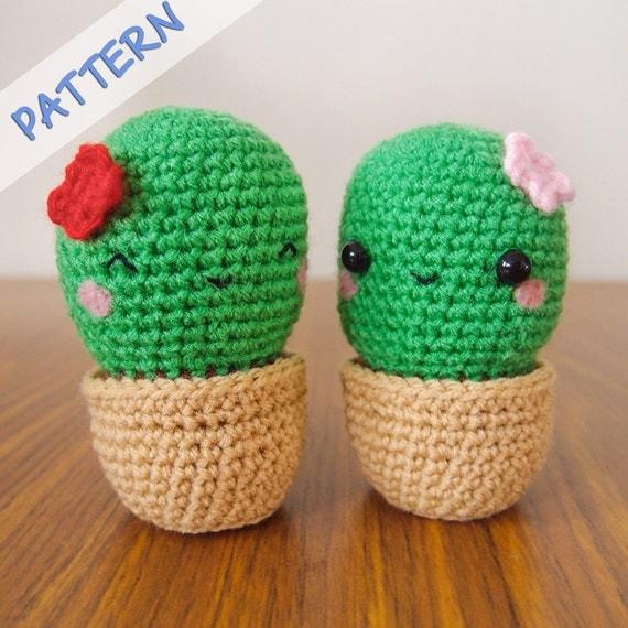 Etsy Amigurumi Cactus : Crochet Cactus Amigurumi Pattern PDF crochet cactus