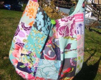 beautiful girly hobo boho hippie crossbody bag!!