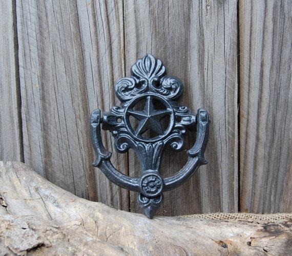 Door Knocker Door Decor Rustic Door Knocker Shabby Chic