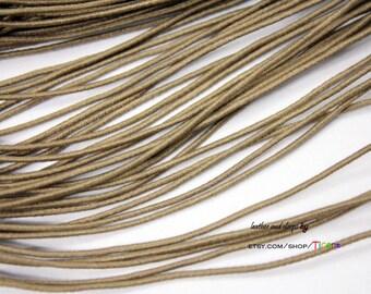 20 Yards 1mm Khaki Elastic String, 1mm Stretch Cords ES2536