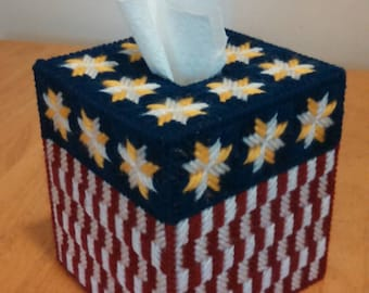 Star's and Stripes (Tissue Box Cover)