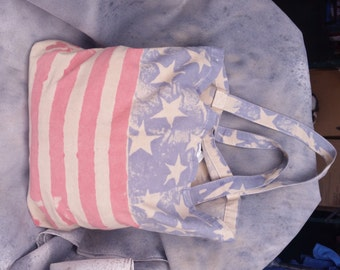 Vintage American Flag Tote Bag *LIMITED EDITION*