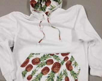 Pineapple hoodie sweatshirt