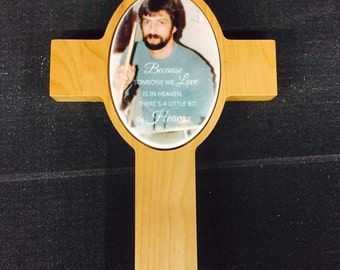 Cross Plaque_Customize this cross to create beautiful keepsake