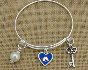 Texas-Arlington Mavericks Memory Wire Bracelet