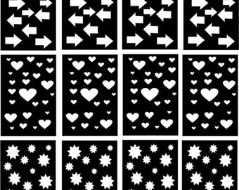 10 quatrefoil nail vinyl decal stencils for nail art free. Black Bedroom Furniture Sets. Home Design Ideas