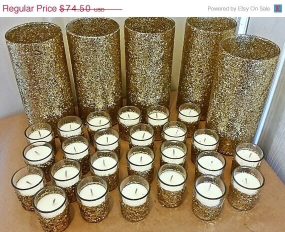 Sale wedding centerpiece set gold by