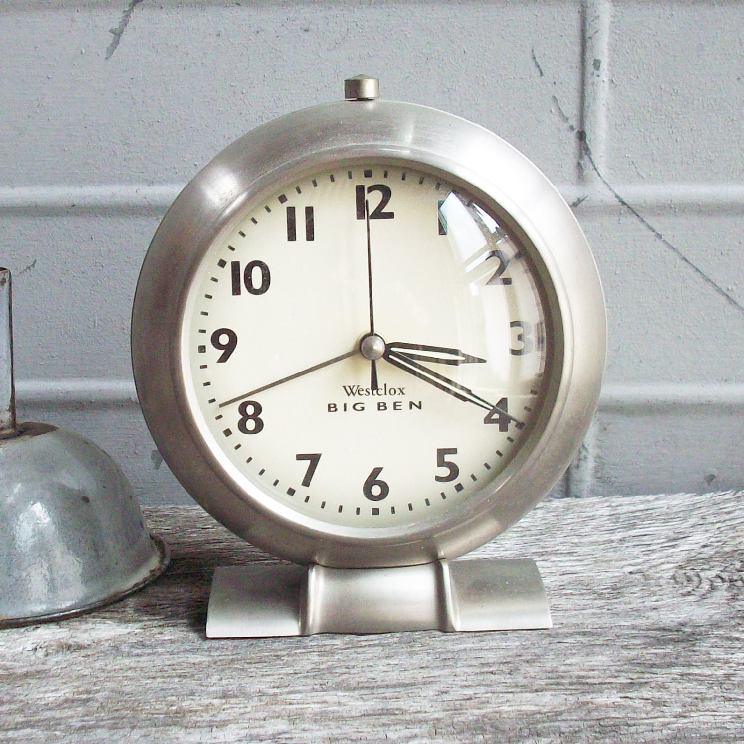 Vintage reproduction of and antique alarm clock art deco Art deco alarm clocks