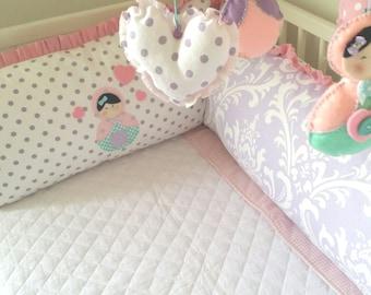 baby crib bedding and nursery decor