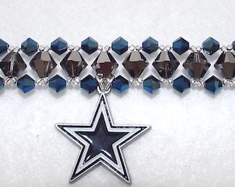 Swarovski Crystal Dallas Cowboy Bracelet