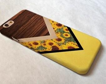 iPhone 7 case iPhone 7 Plus case iphone 6 case iphone 6 plus case iphone 6s case iphone 5s case iphone 5c case Note 7 case Wooden Sunflower