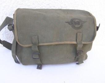 RARE Vintage Israel Egged אגד Bus Driver Personal Bag