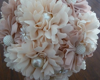 Vintage Floral Wedding Bouquet