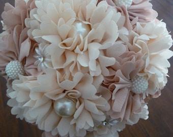 Vintage Floral Wedding Bouquet