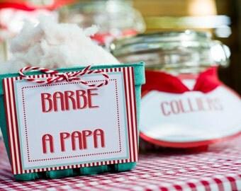 Candy Bar range |mariage spirit guinguette| complete
