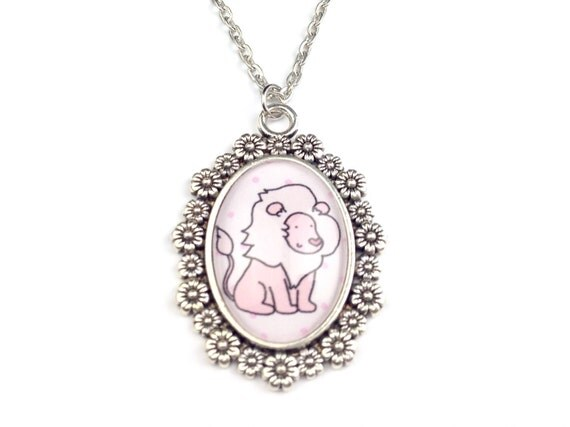 Lion Doodle Necklace - Steven Universe - Crystal Gems