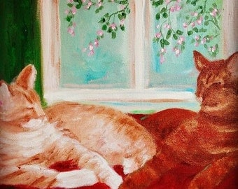 Hand Painted Pet Portrait from your photos!