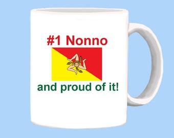 Proud Sicilian Nonno mug